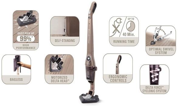 Rowenta Delta Force Stick Vacuum