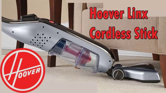 Hoover linx cordless stick vacuum