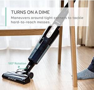 Eufy HomeVac Lightweight Cordless Upright-Style Vacuum Cleaner