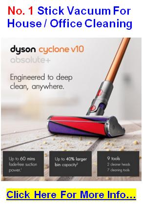 best stick vacuum dyson cyclone v10