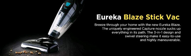 Eureka Blaze 3-in-1 Stick Vacuum