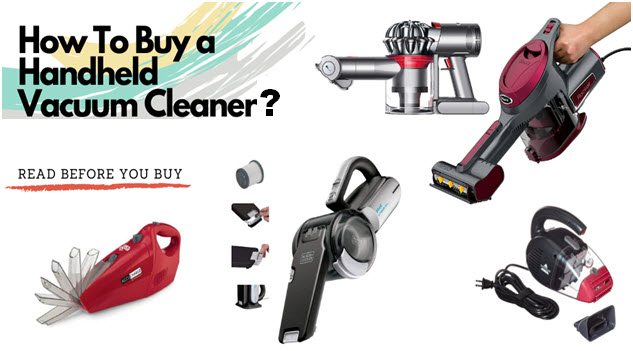 how to buy a hand vacuum cleaner