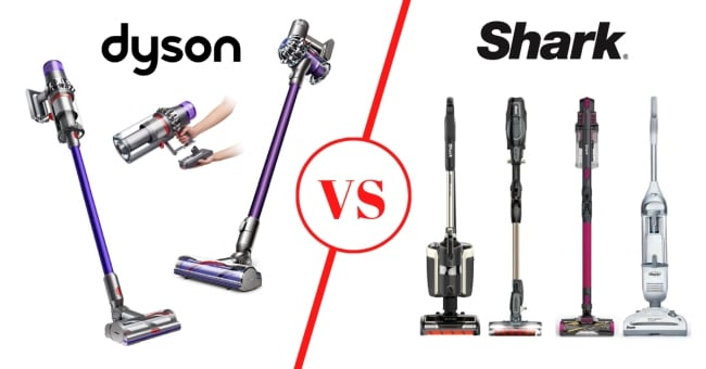 Shark vs Dyson vacuums